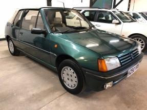 1990 Peugeot 205 Roland Garros Cabriolet