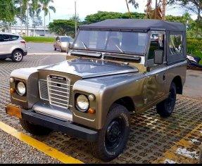 1970 Land Rover Series IIA