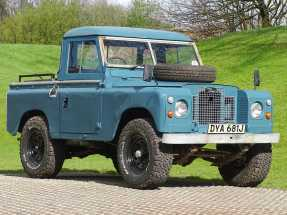 1971 Land Rover Series IIA