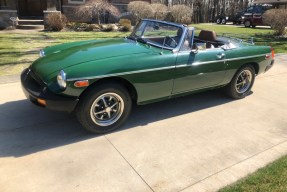 1977 MG MGB Roadster
