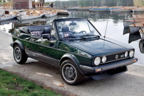 1982 Volkswagen Golf GTi Cabriolet