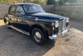 1963 Rover P4