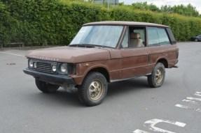 c. 1980 Land Rover Range Rover