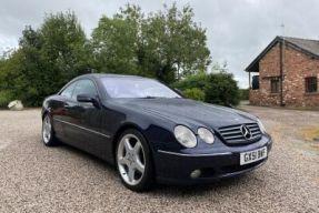 2001 Mercedes-Benz CL 500