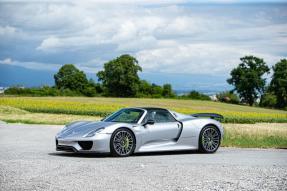 2016 Porsche 918 Spyder