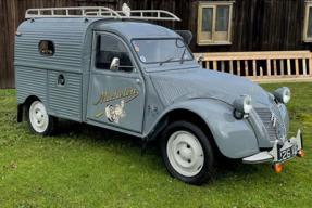 1958 Citroën 2CV Fourgonnette