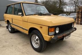 1981 Land Rover Range Rover
