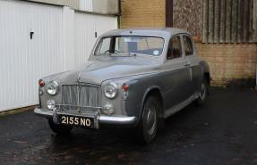1958 Rover P4