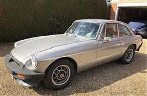 1981 MG MGB GT