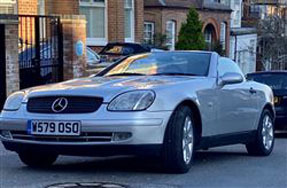 1999 Mercedes-Benz SLK 230