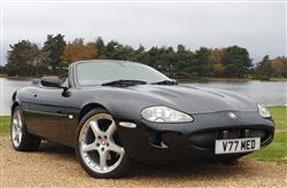 1999 Jaguar XKR