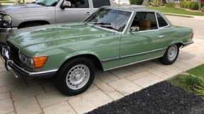 1972 Mercedes-Benz 350 SL