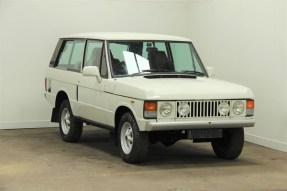 1979 Land Rover Range Rover