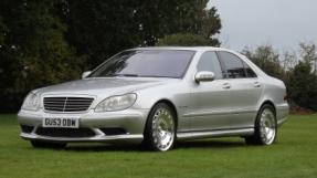 2003 Mercedes-Benz S55 AMG