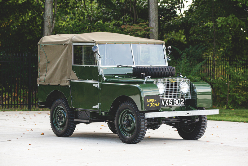 Land Rover Series I SWB 'Car Zero'